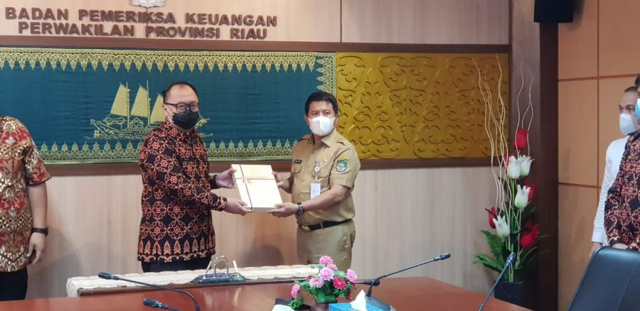 Pemkab Rohul Raih Opini WTP Lima Kali Berturut-Turut dari BPK RI Perwakilan Riau