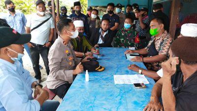 Kapolres Rohul Pimpin Mediasi Sengketa Pengurus Koperasi Sawit Karya Bhakti