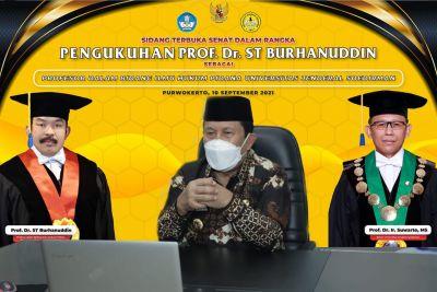 Bupati Rohul Dapat Kehormatan Ikuti Pengukuhan Kepala Kejagung RI Secara Virtual