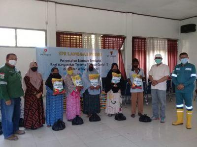 Jelang Idul Fitri, SPR Langgak Berbagi dengan Warga Tandun dan Anak Yatim