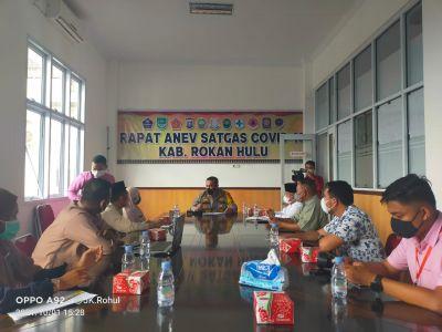 Kapolres Rohul AKBP Eko Wimpiyanto Akan Periksa Petugas Satgas Tracing yang Tidak Berkerja